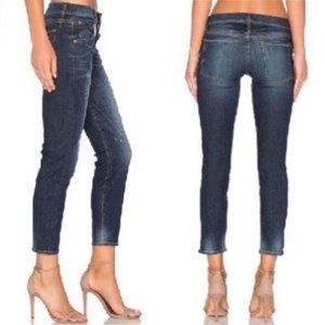 Calvin Rucker 26 Jeans Back in Love Skinny Patches